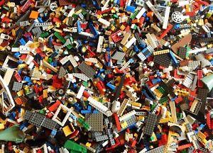 LEGO Bricks - 500g of LEGO Plates, Star Wars, Friends, City, Mixed Bricks