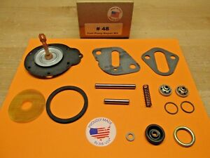 1938 TO 1952 DODGE 6 CYLINDER SINGLE ACTION FUEL PUMP KIT FOR MODERN FUELS USA