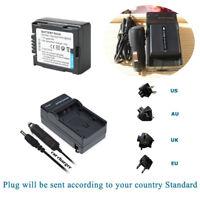 Battery+Charger for HITACHI DVD CAM DZ-BX35A DZ-ACS3 DZ-BX31A DZ-MV350A DVD