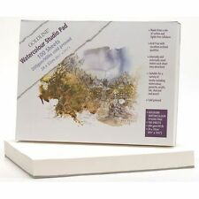 GOLDLINE STUDIO WATERCOLOUR PAD 100 SHEET 200g 24x32cm COLD PRESSED NOT SURFACE