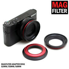 Photography&Cinema 52mm Magfilter Threaded Adapter Ring FREE Carrying Pouch