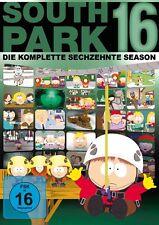 3 DVDs * SOUTH PARK - STAFFEL / SEASON 16 # NEU OVP +