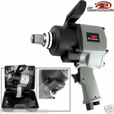 """1"""" Air Impact Wrench Twin Hamme1200FT/LB Short Shank Pistol Type 3800 RPM Case"""