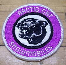 Vintage NOS Arctic Cat Vintage Snowmobile Jacket Patch Kitty
