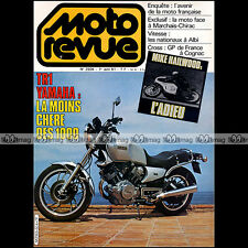 MOTO REVUE 2504 YAMAHA 1000 TR1 ★ MIKE HAILWOOD ★ PERNOD 250 BOL D'ARGENT 1981