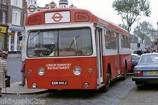 London Transport Recruitment SMS441 Cricklewood 1981 Bus Photo