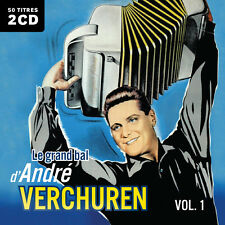 CD Le grand bal d'André Verchuren : Volume 1 - 2 CD - 50 Titres
