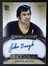 Johnny Bucyk 2015-16 Leaf Superlative Signatures SIG-JB2 17/35
