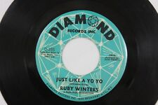 Ruby Winters Northern Soul 45rpm Vinyl Played Tested Record Diamond D-255