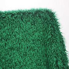 Hunter Green Mongolian Curly Sheep Faux Fur Fabric newborn photography props BTY