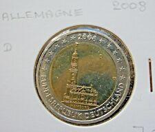 2 EURO commémorative Allemagne 2008.D-  Munich-Deutschland