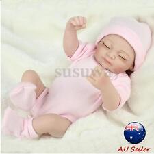 Realistic Reborn Dolls Girl Lifelike Handmade Newborn Baby Soft Vinyl Gift AU