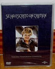 SE HA ESCRITO UN CRIMEN 3ª TEMPORADA COMPLETA 6 DVD NUEVO SERIE (SIN ABRIR) R2