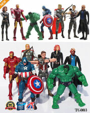 Figuras de acción de superhéroes de cómics sin embalaje, hulk