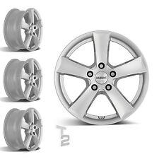 4x 16 Zoll Alufelgen für Mazda 2 / Dezent TX 6,5x16 ET35 (B-12090106)