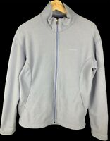 Women's light purple Patagonia synchilla fleece zip up jacket size large
