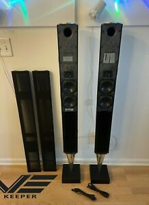 *** Bang & Olufsen BeoLab 8000 Speakers GREAT condition with Black Grills ***