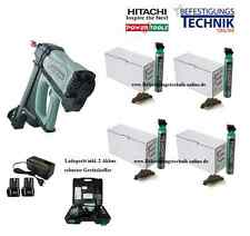 Hitachi Akku Gas Beton Nagler NC 40G +4000 Betonnägel Spit Pulsa Würth Diga CS1