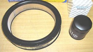 FIAT X19 X/19 1500  New Air Filter And Genuine Oil Filter