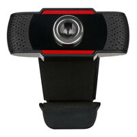 480P/ 720P/ 1080P HD Webcam Mini USB 2.0 Camera 12.0M Pixels w/ Microphone