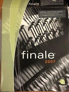 Finale 2007 MAC/PC
