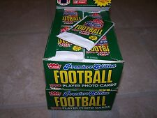 1990 FLEER FOOTBALL (PREMIER EDITION) 2 WAX BOXES  (UNSEARCHED GAURANTEED)