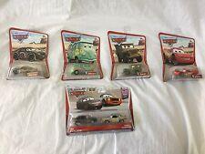 DISNEY PIXAR CARS Original Desert Series Lot Diecast Lightning Mcqueen Sarge +