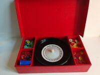 Vintage Roulette wheel set by K & C. Ltd. London.