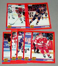 1991-92 Score Hot Card Full Hockey Cards Set 10/10