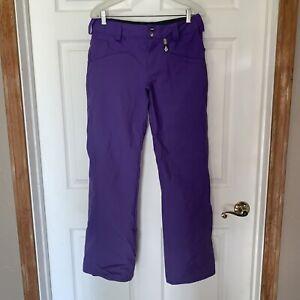 VOLCOM Dame Nimbus Pants Ski Snowboard Womens S Small Purple 10,000 MM MINT