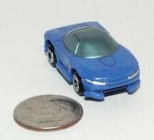 Small Micro Machine Plastic Mitsubishi SHR in Blue