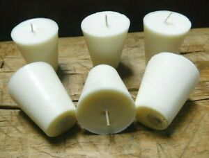 8 Replacement Sugar Mold Candles Holder Primitive Fit in TIN CUP Votives Candle