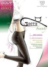 Leggings 100 DEN Nero Taglia 2-S EFFETTO PUSH-UP SPECIALE NERO GATTA