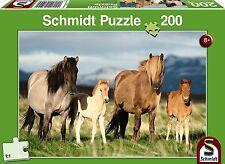 Family of Horses: Children's Schmidt Ponies Jigsaw Puzzle 200 pieces 56199 Ages