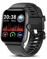 "Tagobee Fitness Tracker Smart Watch For Men Women 1.54"" Full Touch Screen, Ip67"