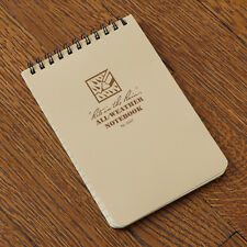 "Notepad Rite in the Rain All Weather Notebook 3x5"" Desert Tan Model 946T"