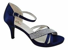 Stiletto Party Patternless Sandals Heels for Women