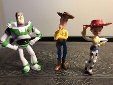"""Buzz Lightyear Wody and Jessie 3"""" Figurines Caketoppers"""