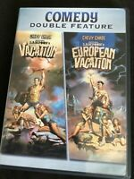 National Lampoon's Double Feature Vacation/ European Vacation Dvds