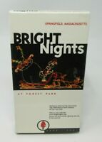 BRIGHT NIGHTS - AT FOREST PARK 2000-2001 VHS VIDEO, SPRINGFIELD MA. HOLIDAY LGHT