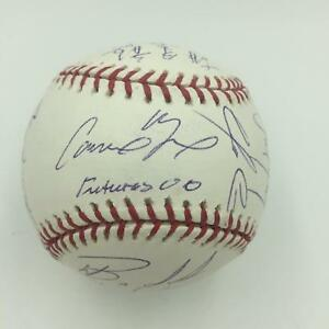 2000 Futures All Star Game Team Signed Baseball W/ Gary Carter And Many Rookies