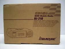 NEW Baojie BJ-218 Mini Dual-Band Mobile Radio 25W UHF VHF Transceiver