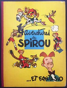 SPIROU ET FANTASIO – 4 AVENTURES DE SPIROU ET FANTASIO – 1956
