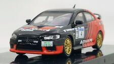Tarmac Works 1:64 Mitsubishi LANCER Evo X Advan Racing T64-004-ADV