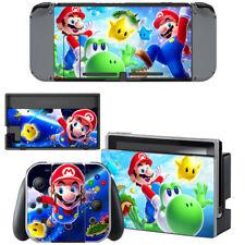 Anime Super Mario Nintendo Switch Console Joy-Con Skin Vinyl Skin Decals Cover