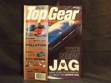 TOP GEAR MAGAZINE ISSUE 31 APRIL 1996. JAGUAR XK8. BMW Z3 V MGF V ALFA SPIDER.