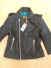 Superdry Women's Leather Casual Biker Coats & Jackets
