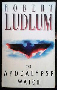 the apocalypse watch robert ludlum 1996 pb harper collins good