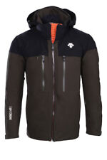 Descente Cypher Ski Jacket - Men's - Medium, Winter Moss/Black/Blaze Orange