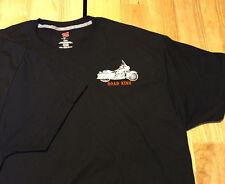 ROAD KING  custom embroidered shirt Men's Large